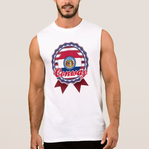 Conway, MOIS T-shirt Sans Manches
