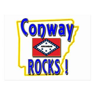Conway Rocks ! (blue) Postcard