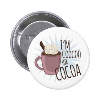 Coocoo pour le cacao macaron rond 5 cm