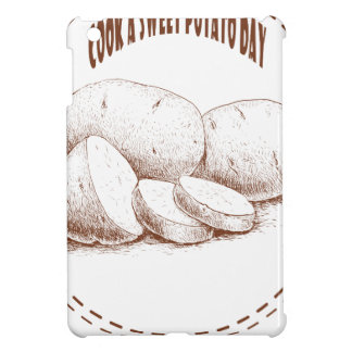 Cook a Sweet Potato Day - Appreciation Day iPad Mini Covers