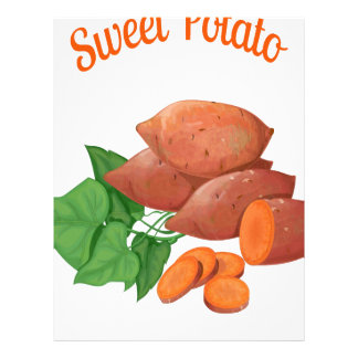 Cook a Sweet Potato Day - Appreciation Day Letterhead