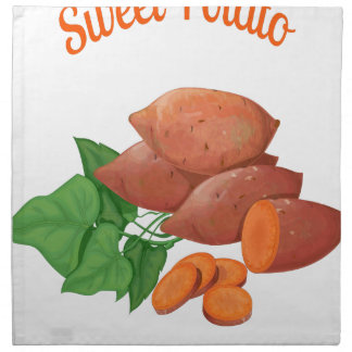 Cook a Sweet Potato Day - Appreciation Day Napkin