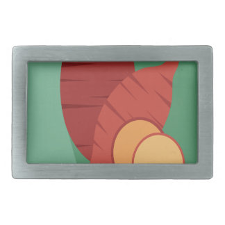 Cook a Sweet Potato Day - Appreciation Day Rectangular Belt Buckle