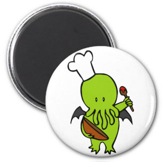 Cook Along With Cthulhu Magnet