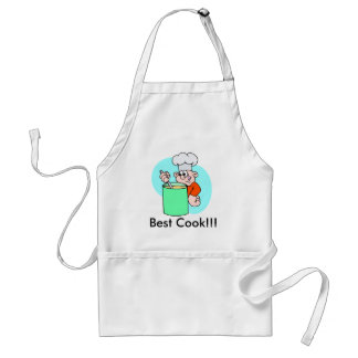 cook, Best Cook!!! Standard Apron