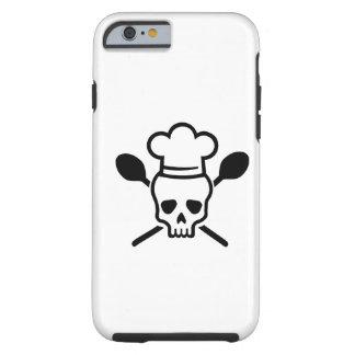 Cook chef skull tough iPhone 6 case