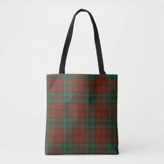 Cook Clan Tartan Tote Bag
