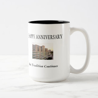 Cook County Hospital 10 year Anniversary Two-Tone Coffee Mug