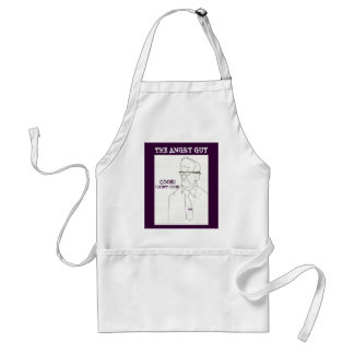 COOK!, I DON'T COOK - THE ANGRY GUY - APRON