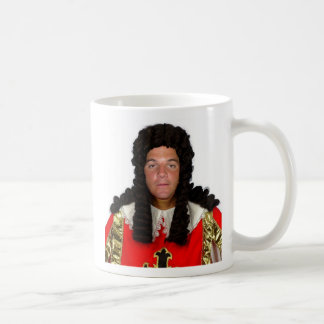 """Cook in a Wig """"34 Cent"""" Coffee Mug"""