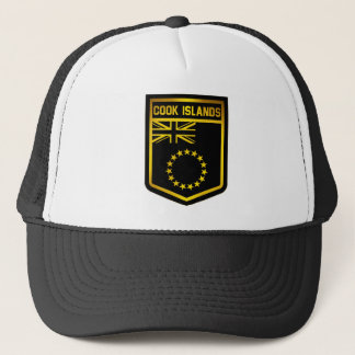 Cook Islands Emblem Trucker Hat