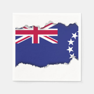 Cook Islands flag Disposable Napkin