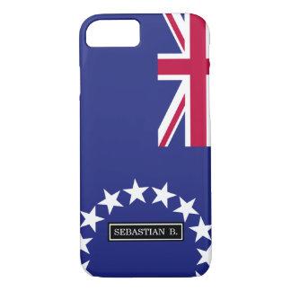Cook Islands flag iPhone 7 Case