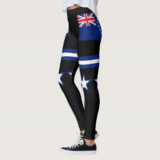 Cook Islands Flag Leggings