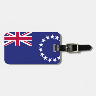Cook Islands flag Luggage Tag