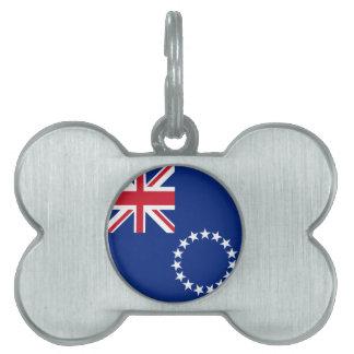 Cook Islands Flag Pet Tag