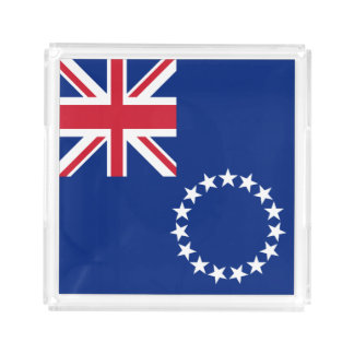 Cook Islands Flag Serving Tray