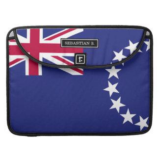 Cook Islands flag Sleeve For MacBooks