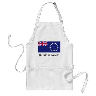 Cook Islands flag Standard Apron
