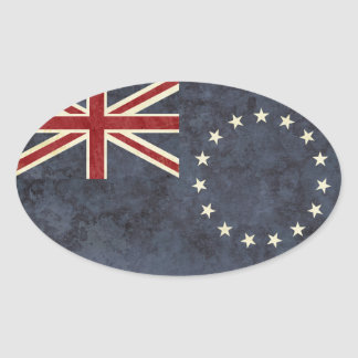 Cook Islands Flag Stickers