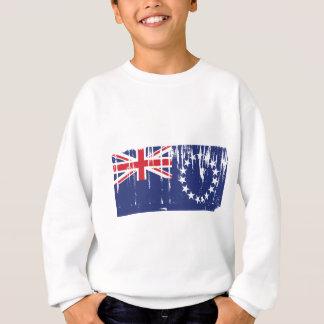 Cook Islands Flag Sweatshirt