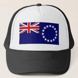 Cook Islands Flag Trucker Hat