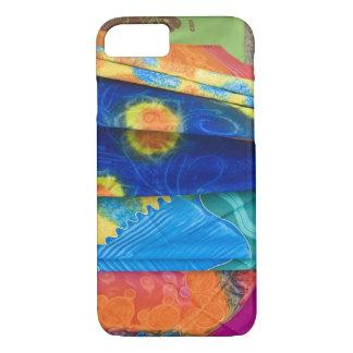 Cook Islands, Rarotonga. Batik cloth Punanga Nui iPhone 7 Case
