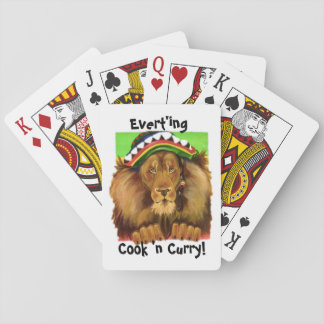 COOK N'CURRY CARDS, i Art and Designs Playing Cards