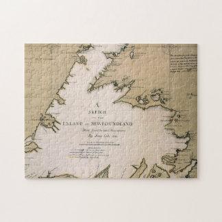 COOK: NEWFOUNDLAND, 1763 JIGSAW PUZZLE