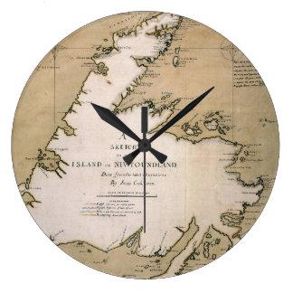 COOK: NEWFOUNDLAND, 1763 WALL CLOCK