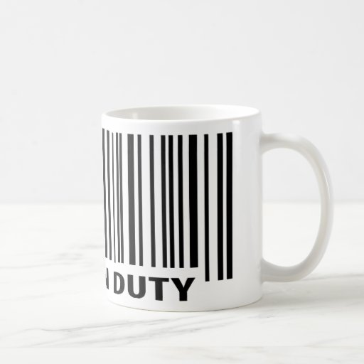 cook on duty icon coffee mugs