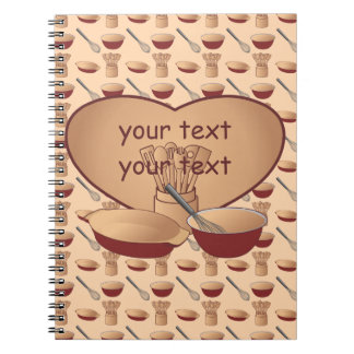 Cook or Chef Personalized Notebooks