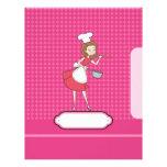 Cook Page Divider / Cover Letterhead Design