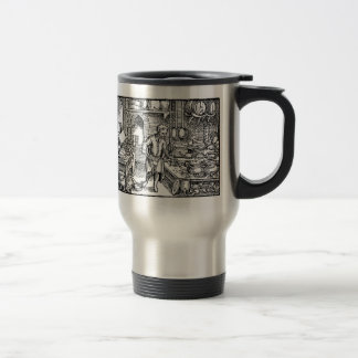 cook woodcut stainless steel travel mug