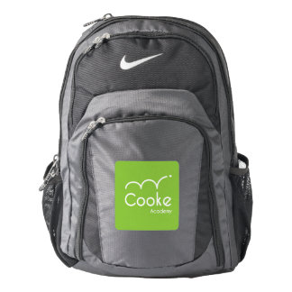 Cooke Academy Nike Backpack, Black/Gray Backpack