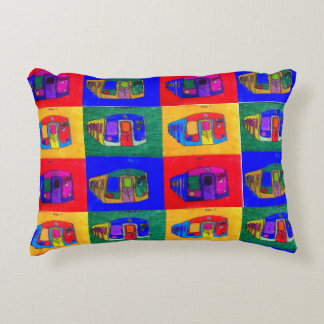 Cooke Founders Collection, Student Art Pillow #17
