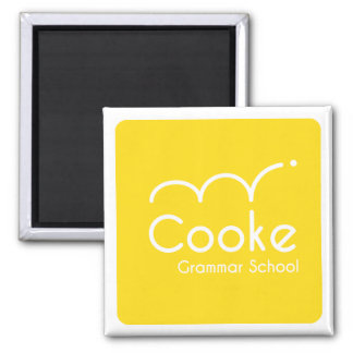 Cooke Grammar School Square Magnet