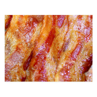 Cooked Bacon Postcard