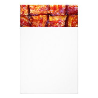 Cooked Bacon Weave Customized Stationery
