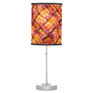 Cooked Bacon Weave Table Lamp