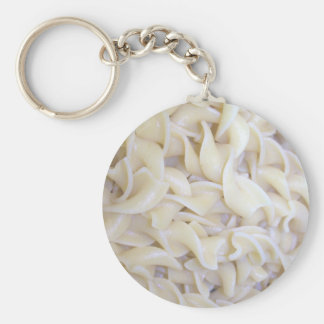 Cooked Egg Noodles Keychain