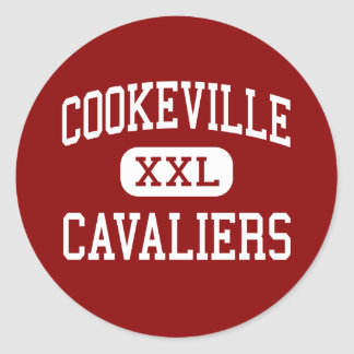 Cookeville - Cavaliers - High - Cookeville Classic Round Sticker
