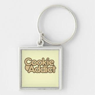 Cookie Addict Keychain