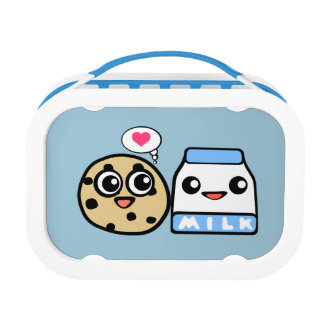 Cookie and Milk Lunch Box