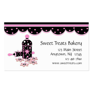 Cookie Baking Business Cards