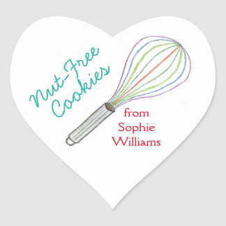 Cookie baking labels / baking stickers