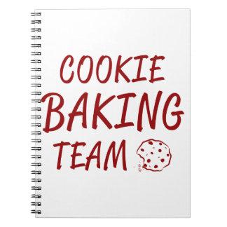 Cookie Baking Team 2 Notebook