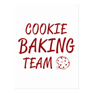 Cookie Baking Team 2 Postcard