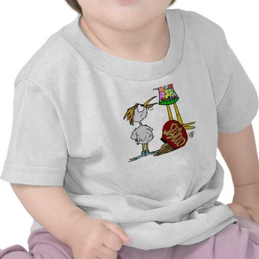 Cookie Bird Cartoon Tshirt