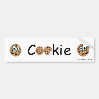 Cookie Bumpersticker Bumper Sticker